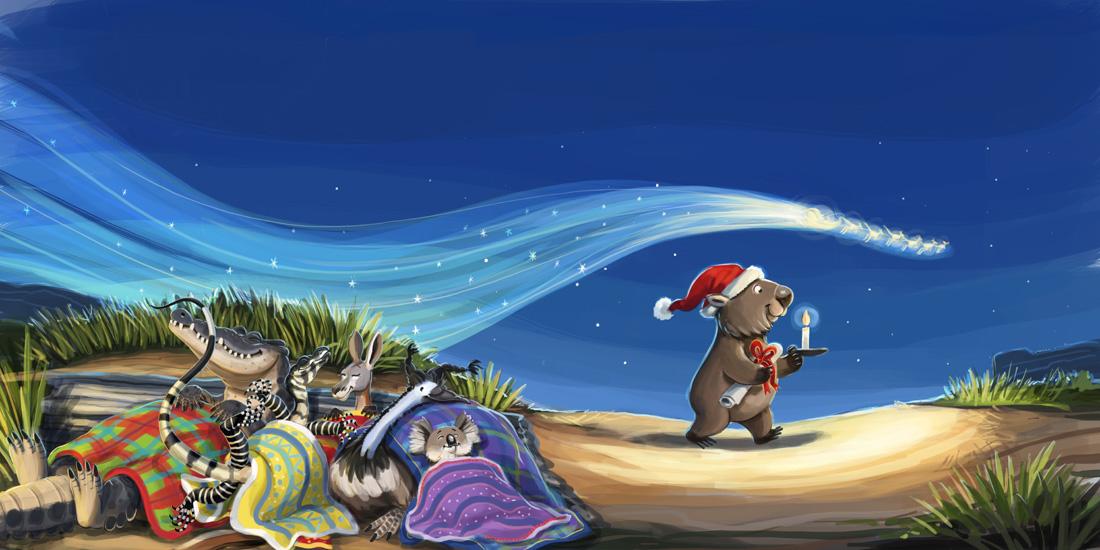 A Christmas Story Live >> Lachlan Creagh Illustration